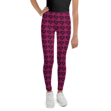 Load image into Gallery viewer, Heart Of Horses Youth Leggings