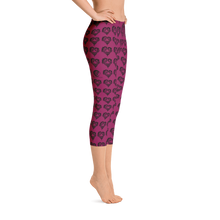 Load image into Gallery viewer, Heart Of Horses Capri Leggings