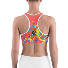 Load image into Gallery viewer, Yellow Horse Adult Sports Bra