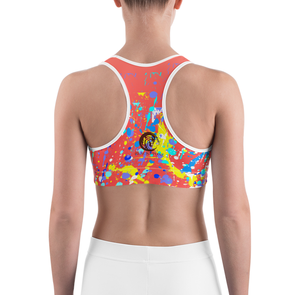 Yellow Horse Adult Sports Bra