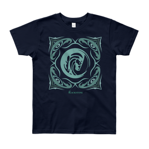 Sage Bandana Youth T-Shirt - Navy