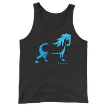 Load image into Gallery viewer, Blue Pony Unisex Tank Top