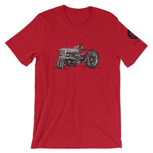 Tractor Short-Sleeve T-Shirt - Red