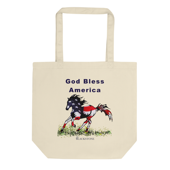 God Bless America Eco Tote Bag