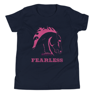 Fearless Youth T-Shirt - Navy