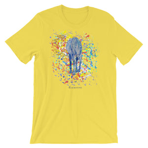 Yellow Horse T-Shirt - Yellow