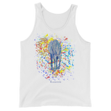 Yellow Horse Unisex Tank Top