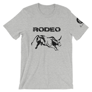 Rodeo Bull T-Shirt - Athletic Heather - Unisex
