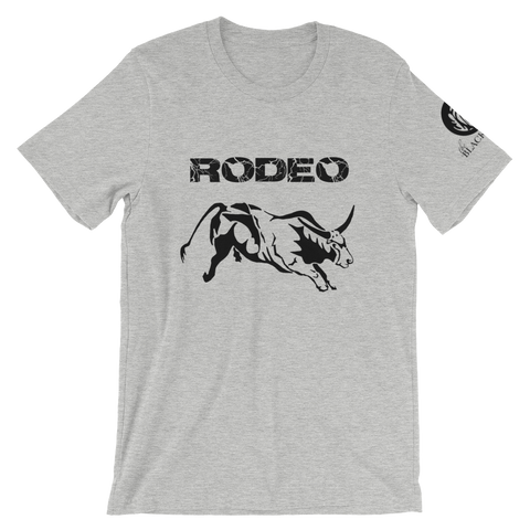 Rodeo Bull T-Shirt - Athletic Heather