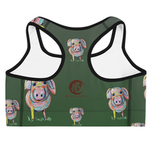 Load image into Gallery viewer, Piggy Sports Bra
