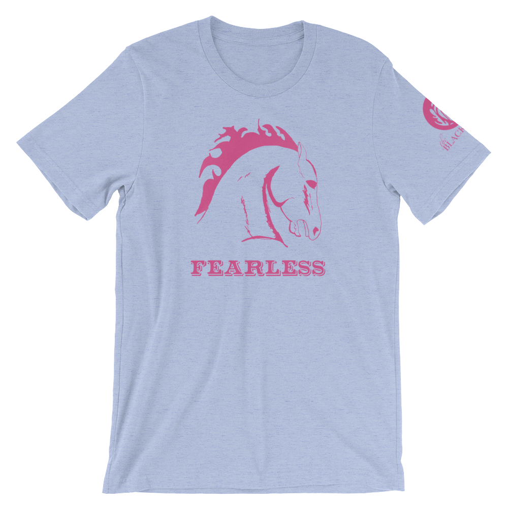 Fearless Short-Sleeve T-Shirt - Heather Blue