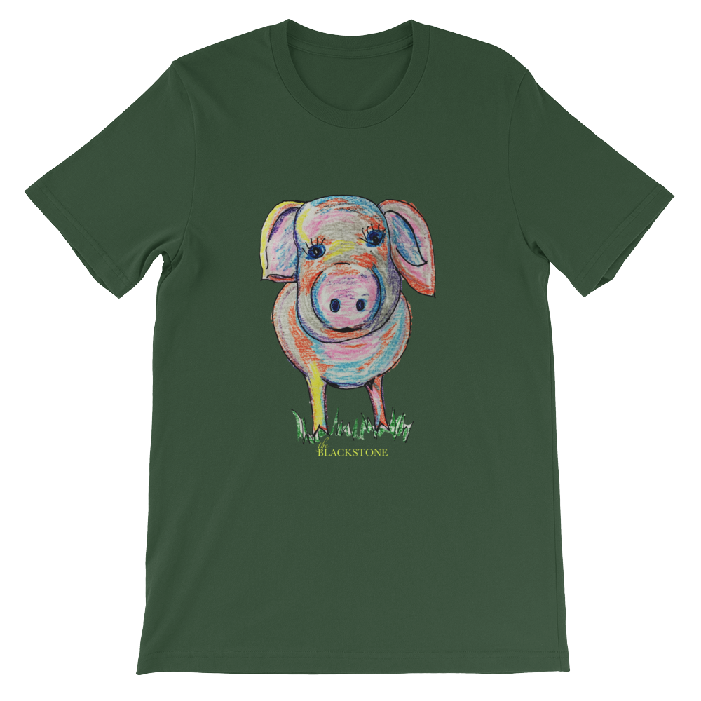 PIggy Adult T-Shirt - Forrest