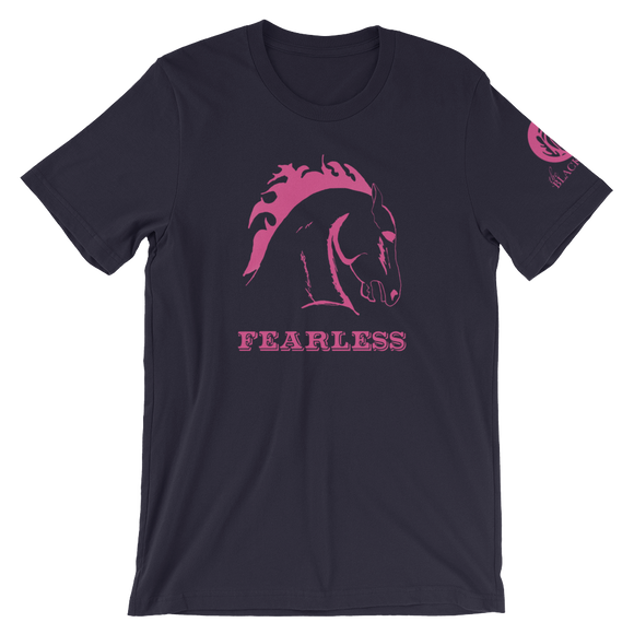 Fearless Horse T-Shirt - Navy