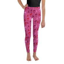 Load image into Gallery viewer, Pony Youth Leggings