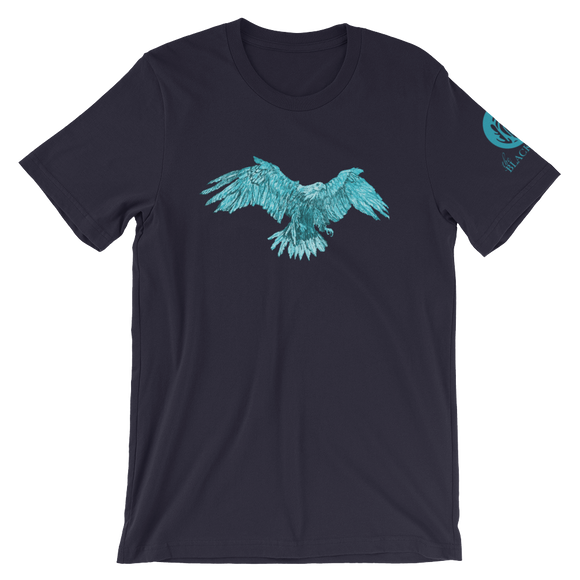 Turquoise Eagle Short-Sleeve T-Shirt - Navy - Unisex