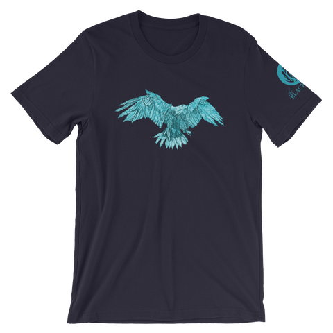 Turquoise Eagle Short-Sleeve T-Shirt - Navy