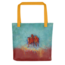 "Load image into Gallery viewer, Chica's Herd Tote Bag 15"" x 15"""