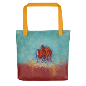 "Chica's Herd Tote Bag 15"" x 15"""