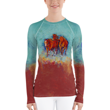 Load image into Gallery viewer, Chica's Herd Women's Rash Guard