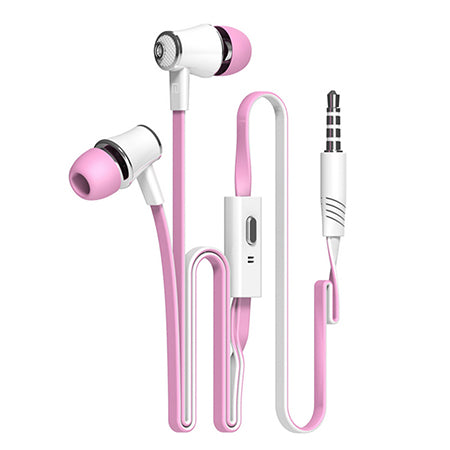 Earphones with Microphone + Super Bass