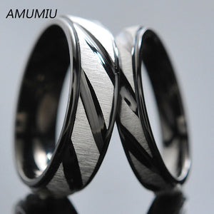 Stainless Steel Couples Rings Only 1 PC per order