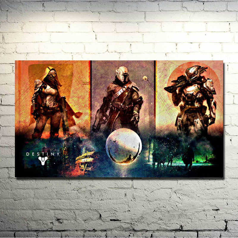 Destiny Art Silk Poster Print 13x24 inches