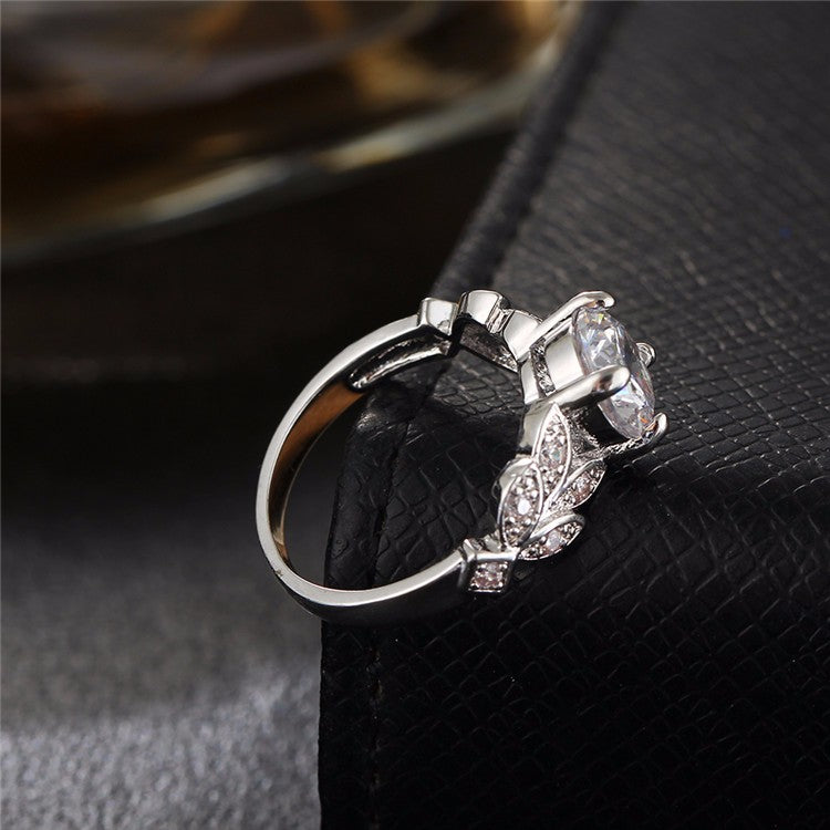 Leaf Engagement Ring | Free For A Limited Time
