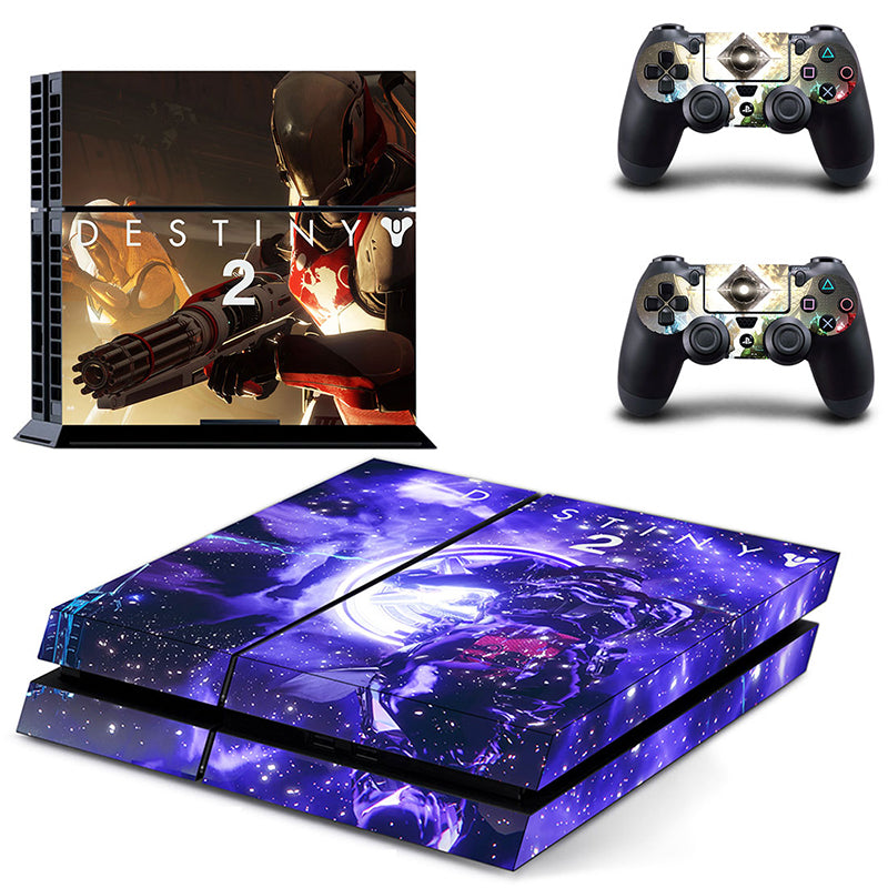 Destiny 2 Full Skin Set for PS4 + 2 Controllers