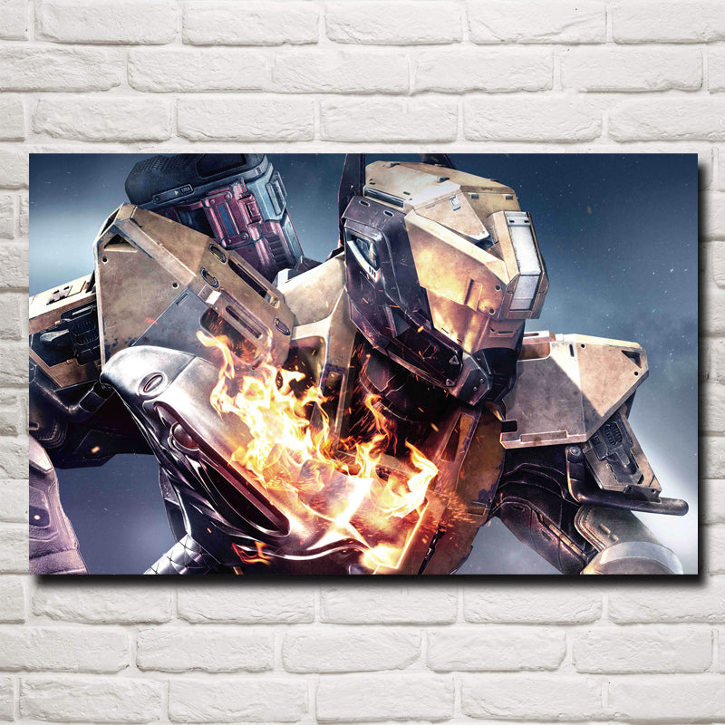 Destiny: The Taken King Game Art Silk Poster 15x24