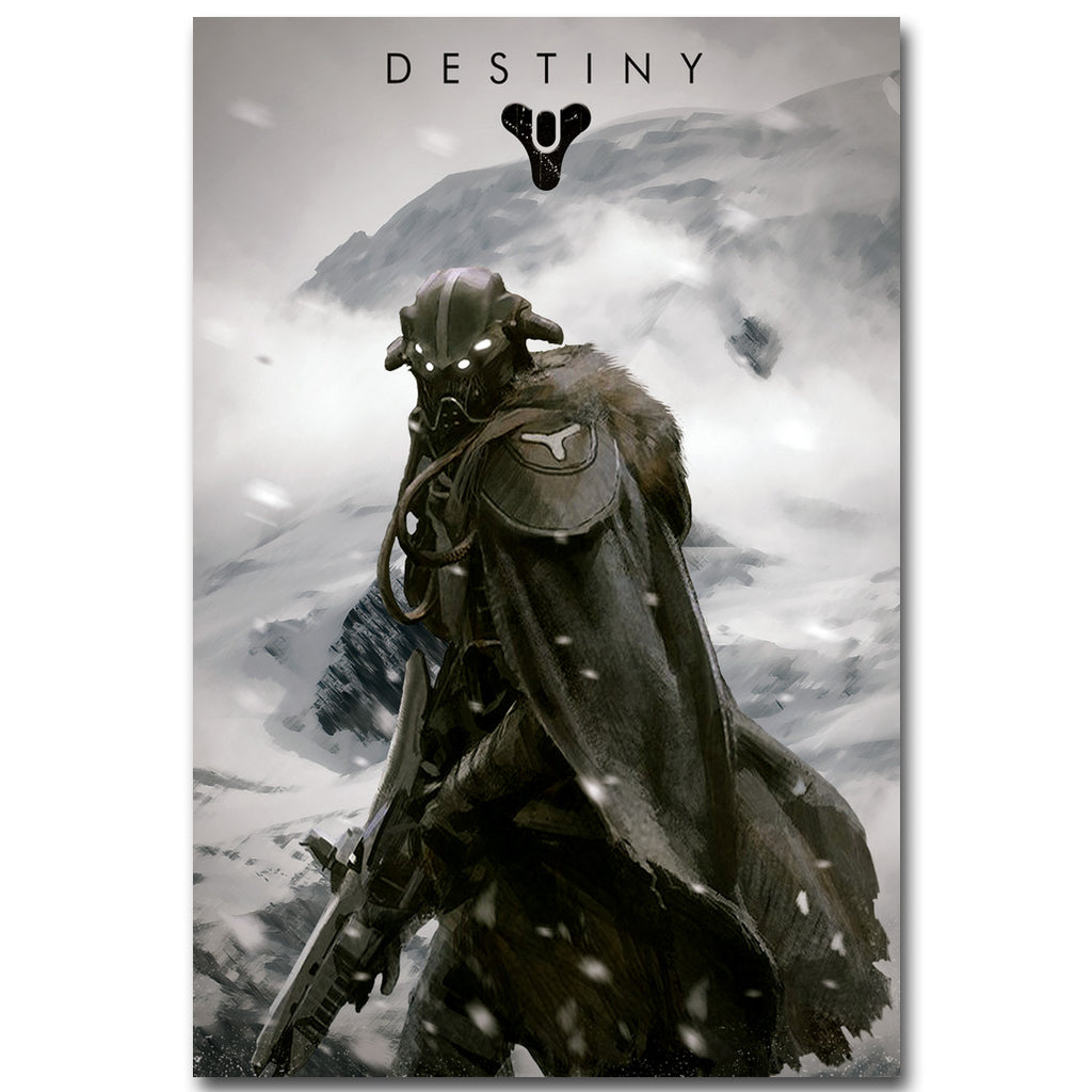 Destiny Silk Fabric Poster Print 13x20