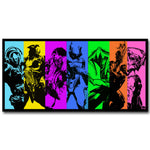 Destiny The Taken King Art Silk Fabric Poster Print 13x26