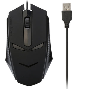 Design 1200 DPI USB Wired Optical Gaming Mouse