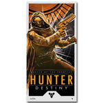 Destiny Hunter Art Silk Fabric Poster Print 13x26