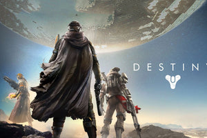 Destiny Cloth Silk Wall Poster