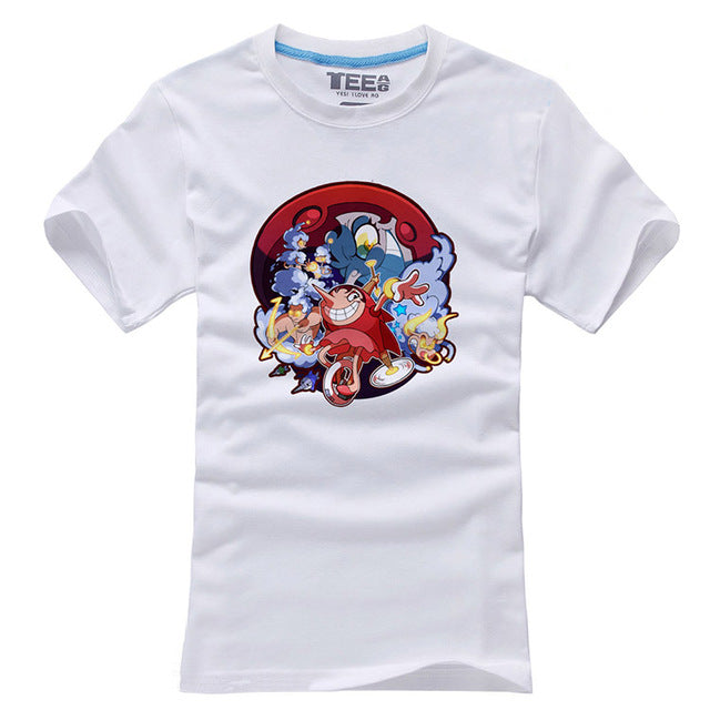 Cuphead Short Sleeve Mens Shirt
