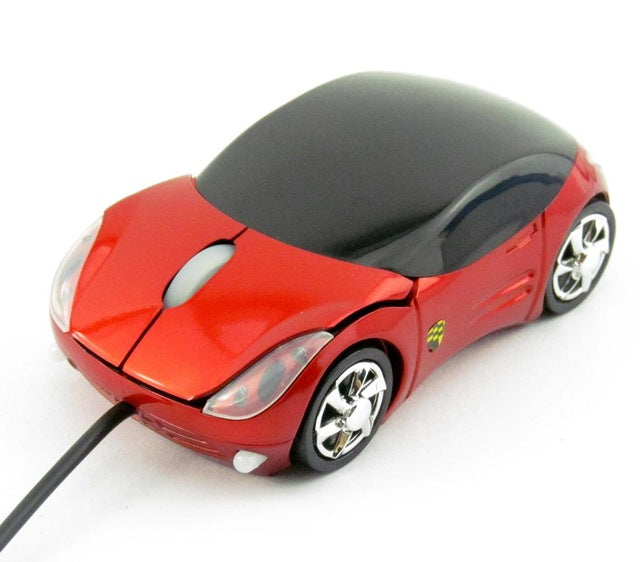 Car-Style Wired Mouse