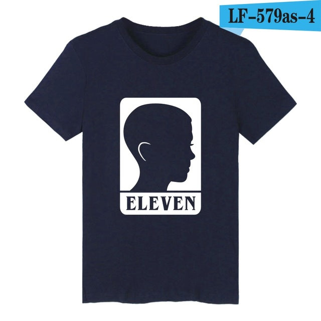 Gorillaz imitation Stranger Things tee shirt