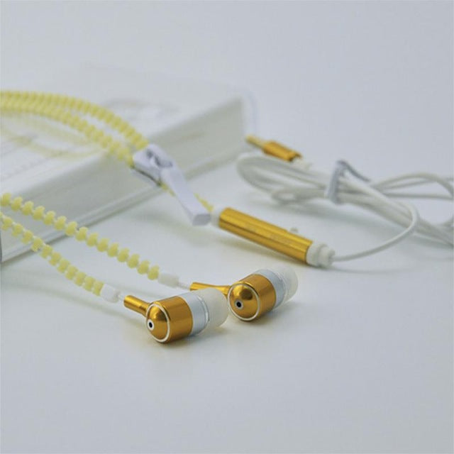Glow in the dark Zipper Earphones | Free For a Limited Time