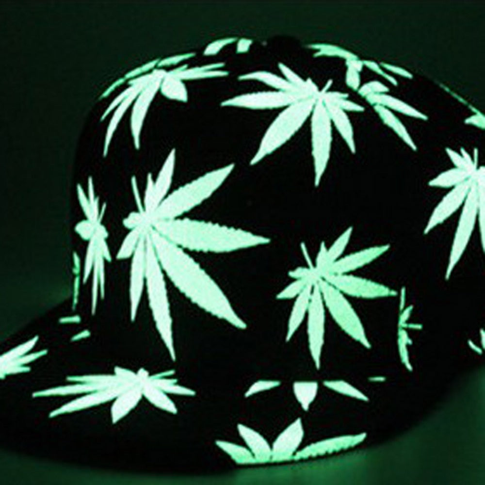 Glow in the Dark 420 Hat