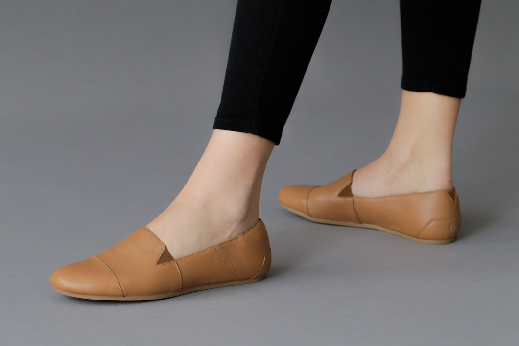 women's leather flats