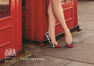 Cocorose London foldable ballet flats at ballerine ballerinas Brisbane Australia