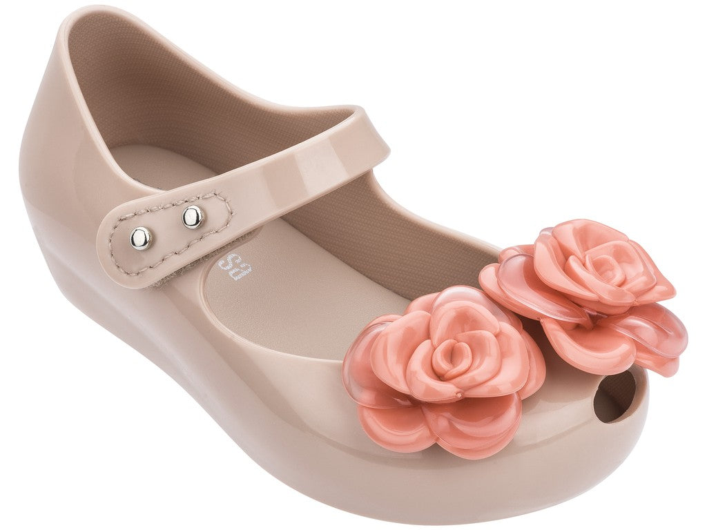 Mini Melissa - Ultragirl Flower Dark Nude Gloss