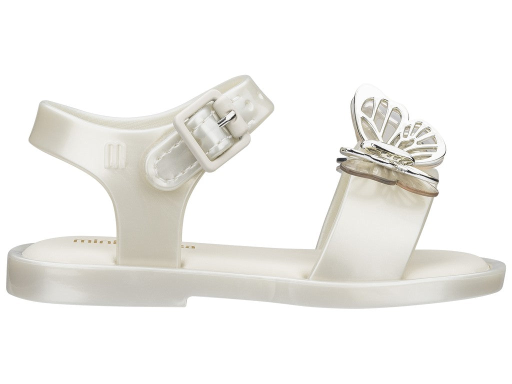 Mini Melissa - Mar Sandal Fly Pearl