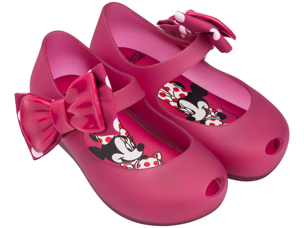Mini Melissa - Ultragirl Disney Minnie II Fuchsia Translucent