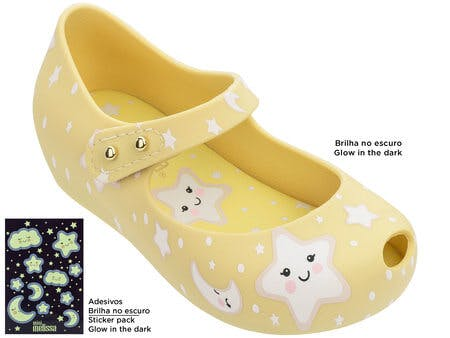 Mini Melissa - Sweet Dream Yellow (glow in the dark)