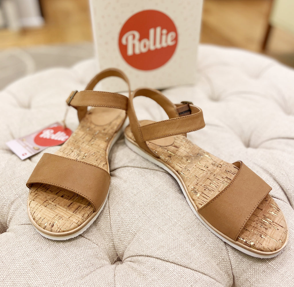 Rollie - Sandal Tan Leather