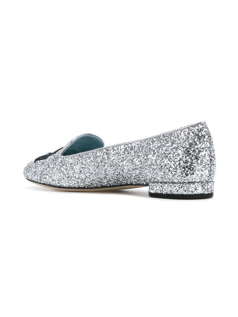 Chiara Ferragni - Flirting Eye Slipper Silver