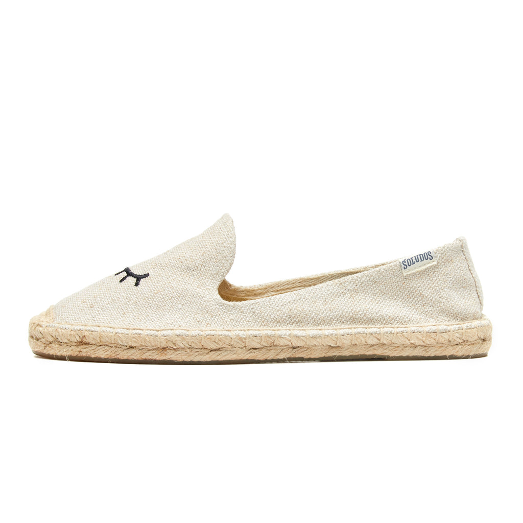 Soludos - Wink Embroidery Smoking Slipper