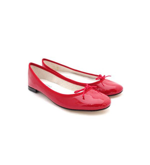 Repetto Paris - Cendrillon Ballet Flats Red