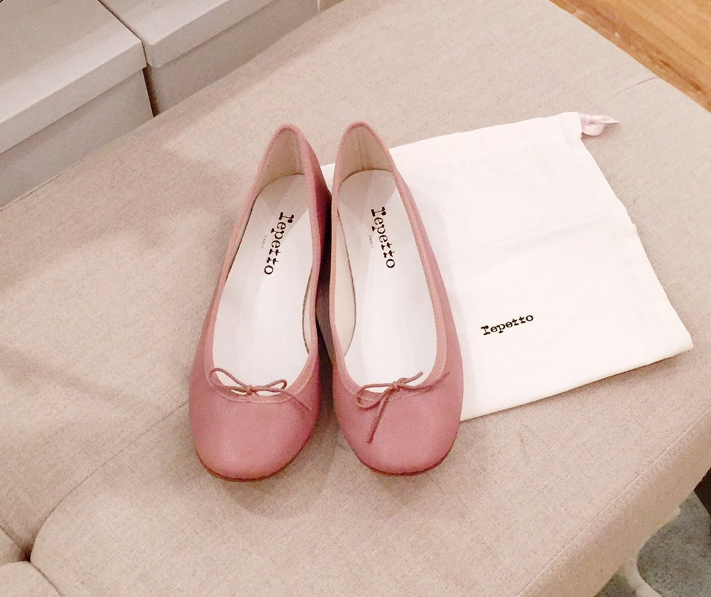 Repetto Paris - Cendrillion Satin Pink
